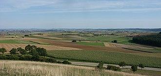 Nördlinger Ries - View of Nördlinger Ries