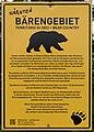 Nötsch Michelhofen Hinweistafel Bärengebiet 08052015 3470.jpg