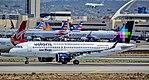 """N528VL Volaris Airbus A320-271N s-n 7051 """"Los Rivas"""" """"Soy el primer Airbus A320NEO de Norteamérica"""" (37862428192).jpg"""