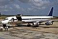 N55FB, Douglas DC-8F-55, (45678), Belize Air International, Belize City (BZE), 14-08-1991 (24498576748).jpg