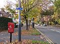 NCN Route 41 crosses Radford Road (2) - geograph.org.uk - 1563358.jpg