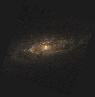 NGC 7537 - A Hubble Space Telescope (HST) image of spiral galaxy NGC 7537 core.