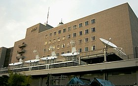 NHK Broadcasting Center Parabola antenna 3.JPG