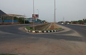 Vaddeswaram - National Highway 16 at Vaddeswaram