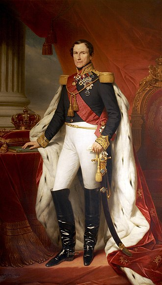 Order of Leopold (Belgium) - Leopold I, first King of the Belgians, Founder and First Grand Master of the Order.