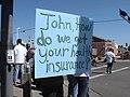 NM Unions Protest John McCain at Hotel Albuquerque (2673716878).jpg