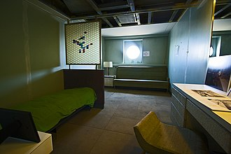 NS Savannah - Partly restored passenger stateroom