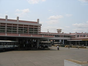 Andhra Pradesh State Road Transport Corporation - NTR bus station,  Guntur