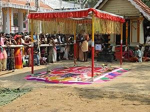 Nalukulangara Pooram - Image: Nalukulangara pooram