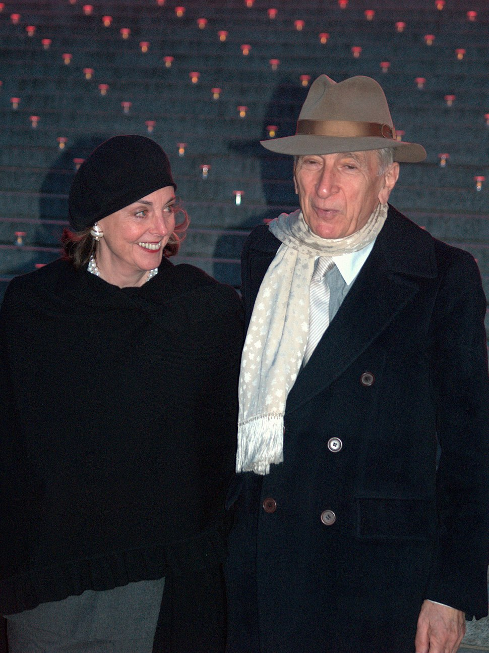 Nan Talese and Gay Talese at the 2009 Tribeca Film Festival