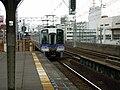 Nankai Imamiyaebisu Station platform - panoramio (10).jpg