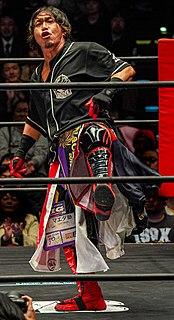 Naoki Tanizaki Japanese professional wrestler
