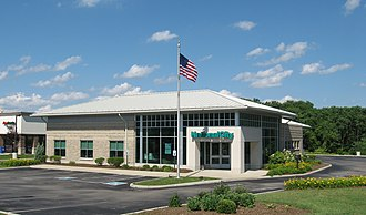 National City Corp. - National City branch in Springboro, Ohio.