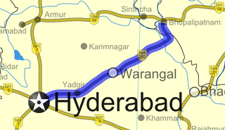 National Highway 163 (India) national highway in India