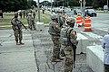 National guard troops stand behind barricades in Kenosha Wisconsin.jpg