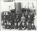 Naval Officers and cadets on the N.S.S 'Sobraon', 1893 (21474832878).jpg