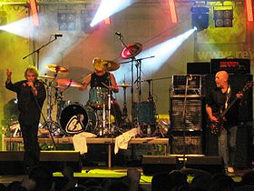 Nazareth 2009.: Dan McCafferty, Lee Agnew i Pete Agnew