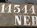 Nebraska 1911 leather license plate.jpg