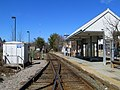Needham Heights station from West Street, March 2016.JPG