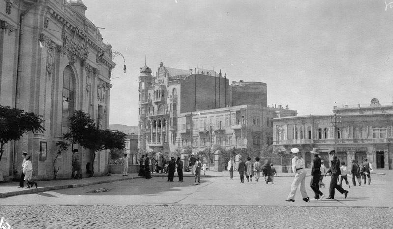 Neftchiler Avenue 1918-1920