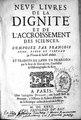 Neuf livres de la dignité et de l'accroissement des sciences, composez par François Bacon,...et traduits de latin en francois par le sieur de Golefer... (IA BIUSante 07994).pdf