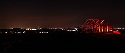 Neukirchen-Vluyn, Halde Norddeutschland, Night of Light, 2020-06 CN-03.jpg