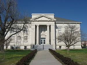 New Madrid County, Missouri - Image: New Madrid County Courthouse