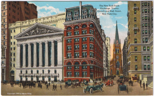 New York Stock Exchange, 1909