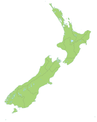 2011 Christchurch earthquake is located in New Zealand