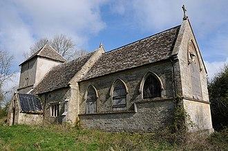 Bagpath - Image: Newington Bagpath church (geograph 2915125)