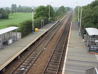 Newton Aycliffe railway station Railway station in County Durham, England