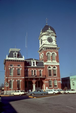 Covington, Georgia - Built in 1884, the historic Newton County Courthouse located in Covington, Georgia
