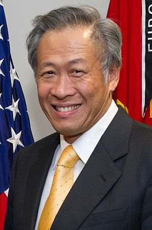Minister for Defence (Singapore) - Image: Ng Eng Hen at the Pentagon 20120404