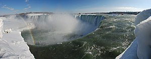 The Horseshoe Falls of Niagara Falls seen from...
