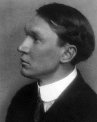 Vachel Lindsay - Lindsay in 1913