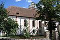 Nidzica - zespół kościoła św. Wojciecha i Niepokalanego Poczęcia NMP (widok z boku).jpg