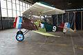 Nieuport 27 LSide Restoration NMUSAF 25Sep09 (14577378326).jpg