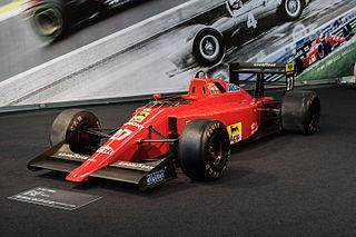 Ferrari 640 racing car