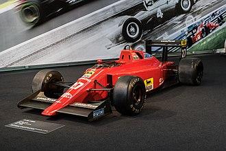 Ferrari 640 - Image: Nigel Mansell Ferrari F1 (16032819141)