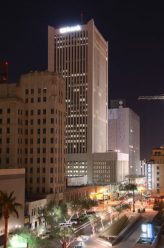 Downtown Phoenix - Downtown Phoenix at night