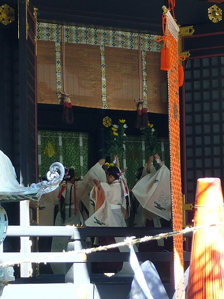 Kagura traditional dance, Katori Jingu, Katori City Niiname-sai,traditional Japanese dance,katori-jingu-shrine,katori-city,japan.JPG
