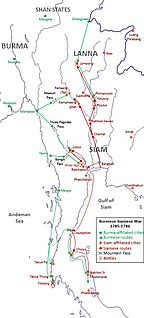 Burmese–Siamese War (1785–1786)