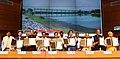 Nitin Gadkari presiding over the signing ceremony of MoU between MoWR and Chief Ministers of six states viz Uttar Pradesh, Delhi, Uttarakhand, Rajasthan, Himachal Pradesh and Haryana regarding the Lakhwar Dam Project (1).JPG