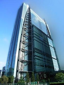 Nittele tower Shiodome 2007-2.jpg