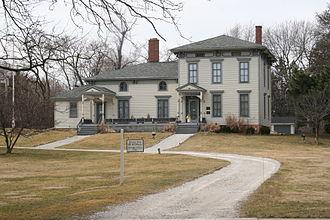 Norwood Park, Chicago - The Noble–Seymour–Crippen House,a Chicago Landmark, at 5624 N Newark Ave.