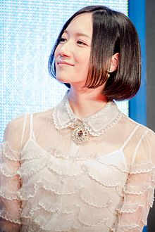 "Description de l'image Nocchi (Perfume) ""We Are Perfume"" at Opening Ceremony of the 28th Tokyo International Film Festival (22429188795).jpg."
