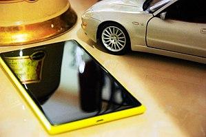 Nokia Lumia 1520 - Image: Nokia Lumia 1520 Clearblack display