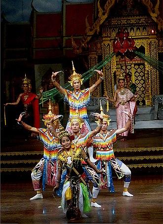 Menora (dance) - Image: Nong Nooch 14