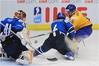 Jenni Hiirikoski Finnish ice hockey player