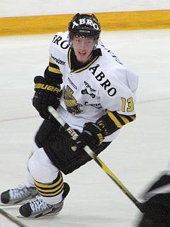 Joakim Nordström Swedish ice hockey player